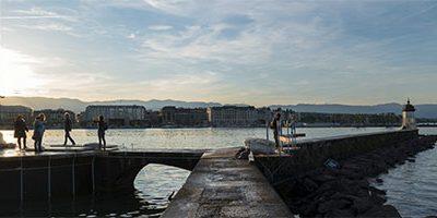 The Jet d'Eau – Geneva