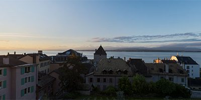 Castle at sunrise – Nyon